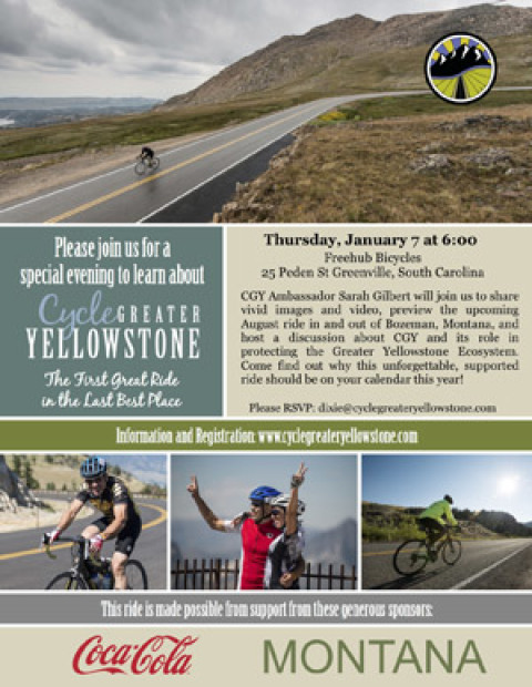 Learn About Cycling Greater Yellowstone
