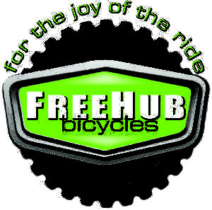 FreeHub Bicycles logo flat
