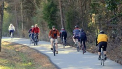 Spinners' member advocates for trail etiquette