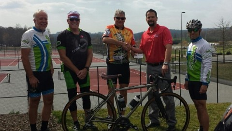 The Greenville Spinners Give Again – to NGU for Spinners Rides