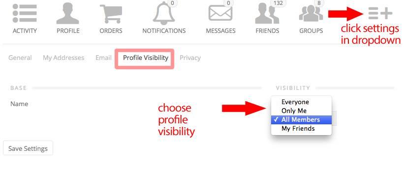 profilevisibility