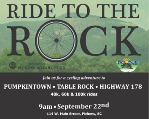 Pickens Rotary – Ride to the Rock
