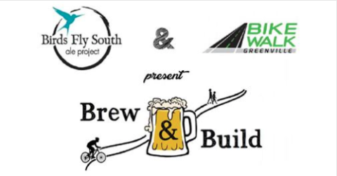 Brew & Build with Bike Walk Greenville