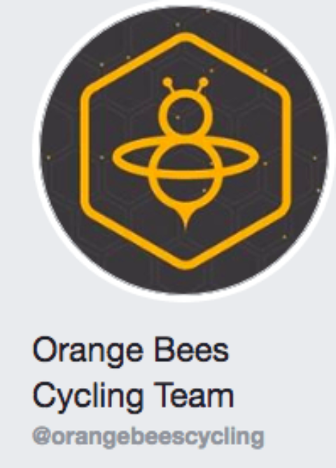 Tuesday night ride with Orange Bees Cycling Team