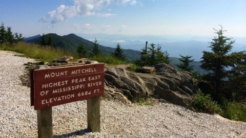 Reconnaissance Ride – Mount Mitchell – May 10